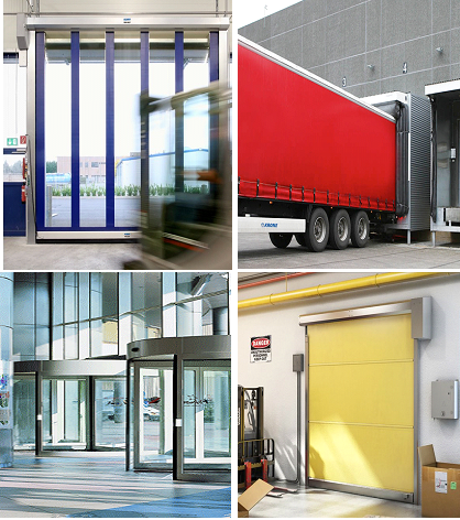 Industrial door and docking solutions